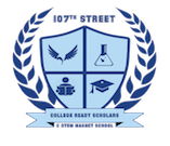 107th Street Elementary & Science, Technology, Engineering, Art, and Technology Magnet  Logo